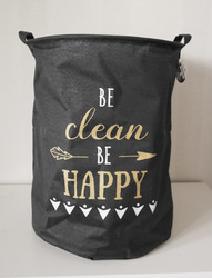 Be clean, be happy -sisustuskori