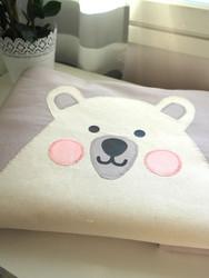 Polar bear -vauvanpeitto (3-in-1)