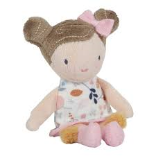 Little Dutch, Cuddle doll Rosa, 10cm