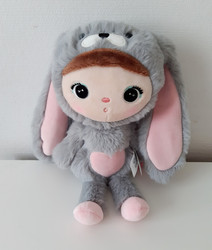 Metoo, Bunny -harmaa 30cm