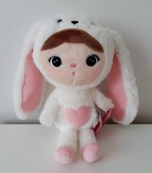Metoo, Bunny -valkoinen 30cm