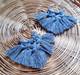 Vieno -korvakorut, siniharmaa
