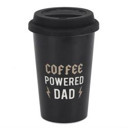 Coffee powered Dad -termosmuki