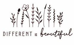 Different is beautiful -silityskuva