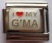 Love my G'ma, rakastan isoäitiäni