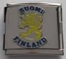 Suomen Leijona yhdistelmäpala, 18x18 mm
