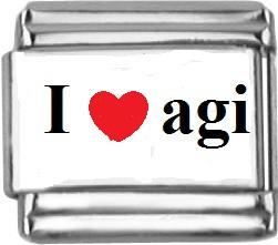 I love agi