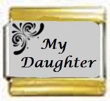 My Daughter, kullanväriset reunat