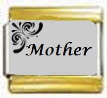Mother, kullanväriset reunat