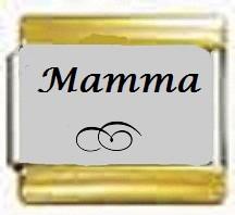 Mamma, kullanväriset reunat