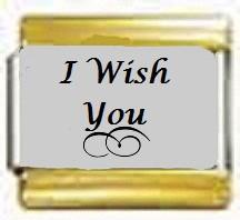 I Wish You, kullanväriset reunat