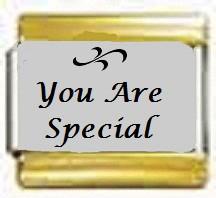 You Are Special, kullanväriset reunat