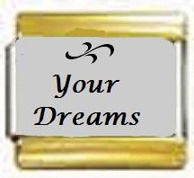 Your Dreams, kullanväriset reunat