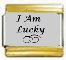 I Am Lucky, kullanväriset reunat