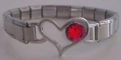 Ranneke + punainen sydänlinkki