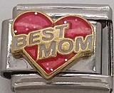 Best Mom, vaaleanpunainen sydän