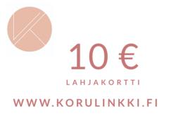 Lahjakortti 10 €