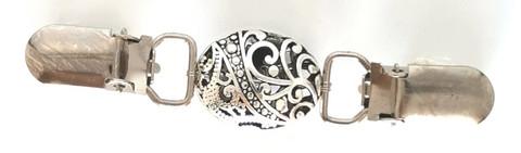 Miniklipsu Ovaali ornamentti