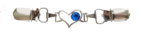 Neuleklipsu Sininen sydän