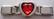 Sydänlinkki, punainen iso kivi