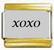 XOXO, kullanväriset reunat