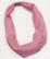 Huivi/nauha vaaleanpunainen magneettilukolla