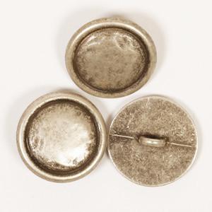 Pyöreä (hopeavärinen) 20mm