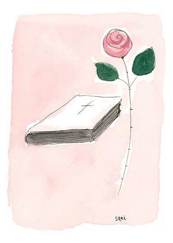 KORTTI, Rippi vaaleanpunainen, 2-osainen