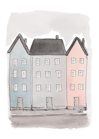 KORTTI, Uusi tupa, talot, 2-osainen