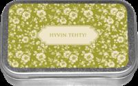 APPELSIINIPASTILLIT PELTIRASIASSA HYVIN TEHTY