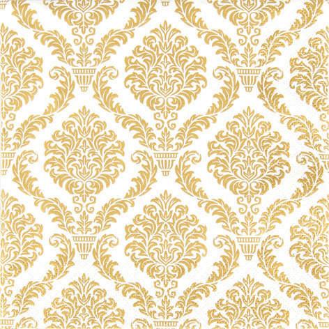 SERVETTI,  ELEGANT GOLD  33X33 CM