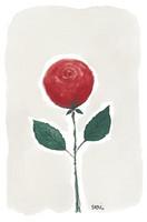 KORTTI, Punainen ruusu, 2-osainen