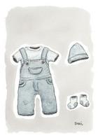 KORTTI, vaatteet pienelle pojalle, 2-osainen