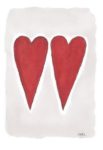 KORTTI, Kaksi punaista sydäntä, 2-osainen