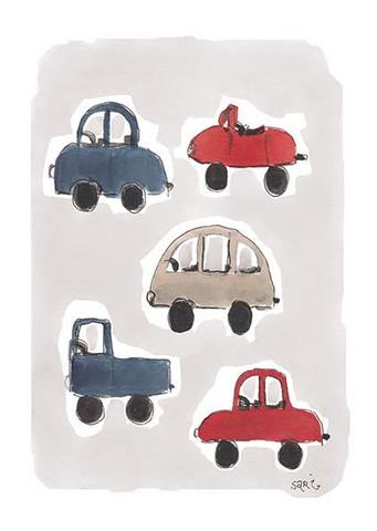 KORTTI, Autot, 2-osainen