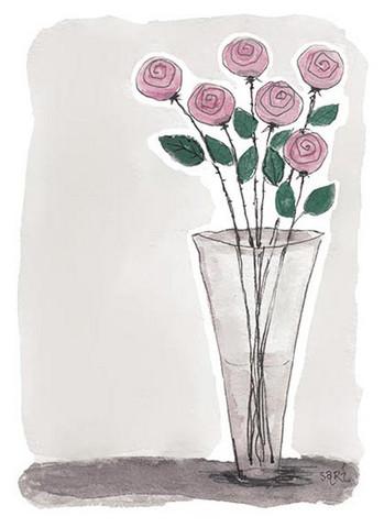 KORTTI, Ruusut vaal.pun, 2-osainen