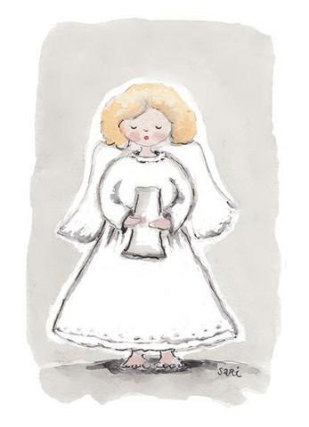 JOULUKORTTI, Laulava enkeli, 2-osainen