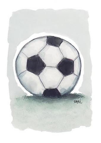 KORTTI, Jalkapallo harmaa, 2-osainen