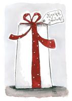JOULUKORTTI, Hyvää Joulua, Paketti , 2-osainen