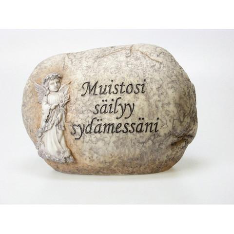 MUISTOKIVI, TEKSTILLÄ