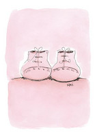 KIRJA, Vaaleanpunaiset tossut