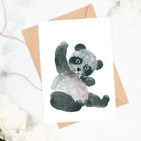 POSTIKORTTI, PANDA