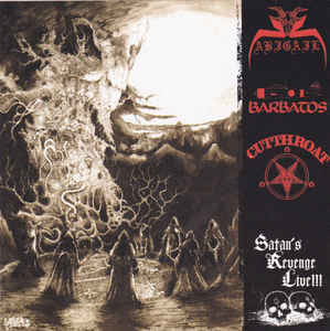 Abigail / Barbatos / Cutthroat - Satan´s Revenge Live (used)