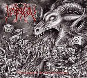 Impiety ‎– Worshippers Of The Seventh Tyranny (new)