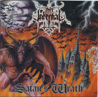 Thy Infernal ‎– Satan's Wrath (CD, New)