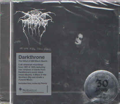 Darkthrone ‎– The Wind Of 666 Black Hearts (new)