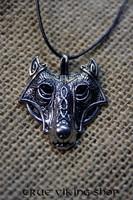 Wolf head, nordic