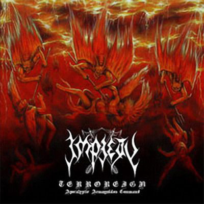 Impiety ‎– Terroreign, Apocalyptic Armageddon Command (CD, New)