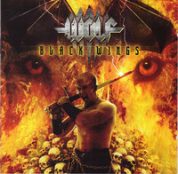 Wolf ‎– Black Wings (CD, Used)