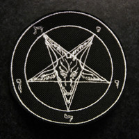 Baphomet Pentagram (patch)